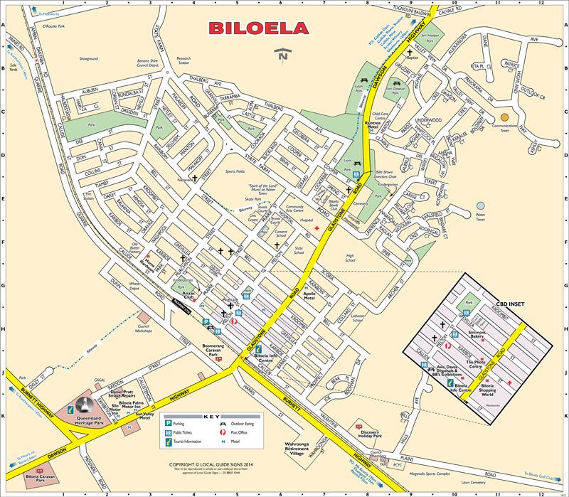 Biloela Australia  city images : Biloela, photo vu sur : localguidesigns.com.au