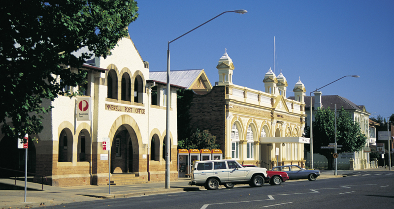 inverell tourist attractions - new england