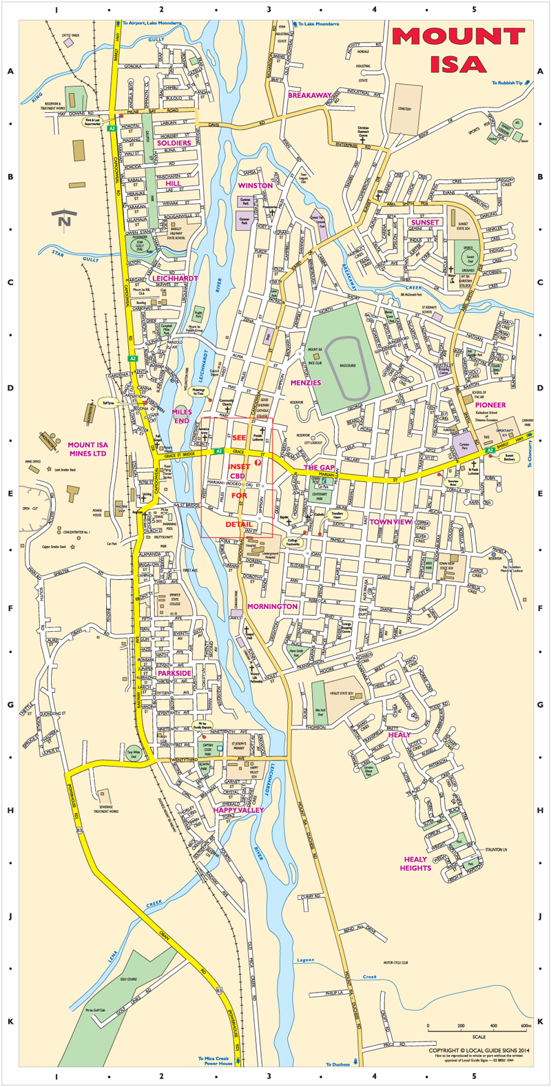 town guide map of ranchi