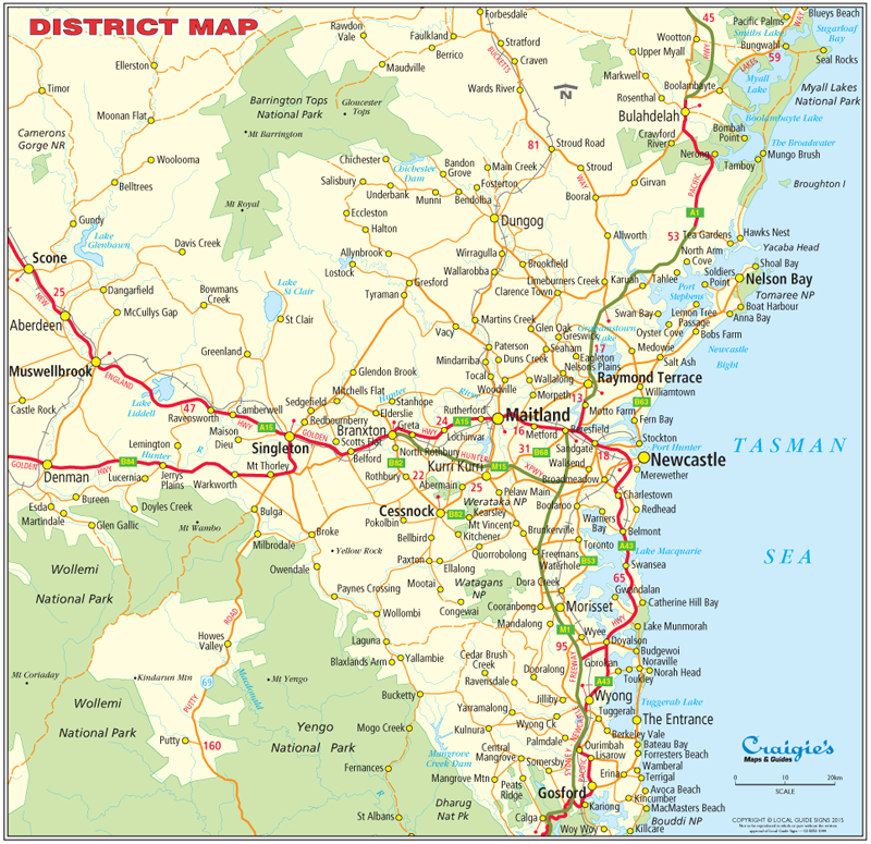 Singleton  Hunter Valley NSW  Maps  Street Directories  Places