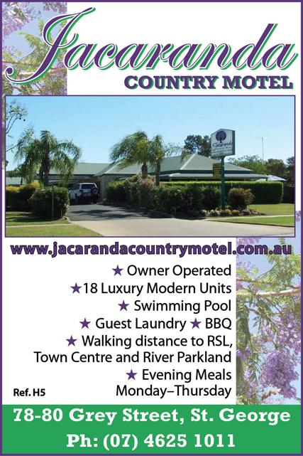 Jacaranda Country Motel St George Qld